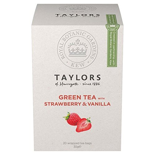 Taylors Green Strawberry Vanilla Teabags product image
