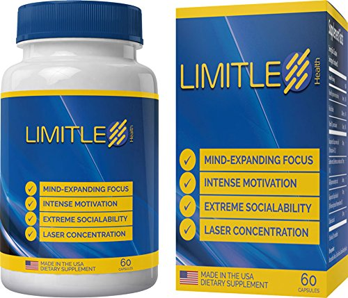 Limitless Health - Brain Function - AS Heard ON The Radio | 1 Bottle Results in 27 Minutes | 8 Ingredients | Improve Reaction Speed |