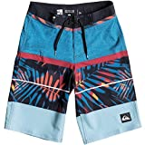 Quiksilver Boys Slab Print Vee Youth 19 Boardshorts