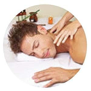 alfombrilla de ratón El hombre consigue volver masaje tailandés en el spa - ronda - 20cm