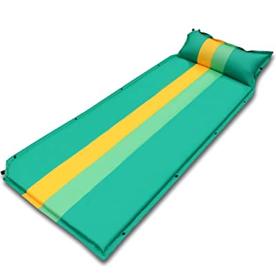 Miao automatique gonflable Pad, extérieur Fight Couleur unique Camping Sleeping Pad