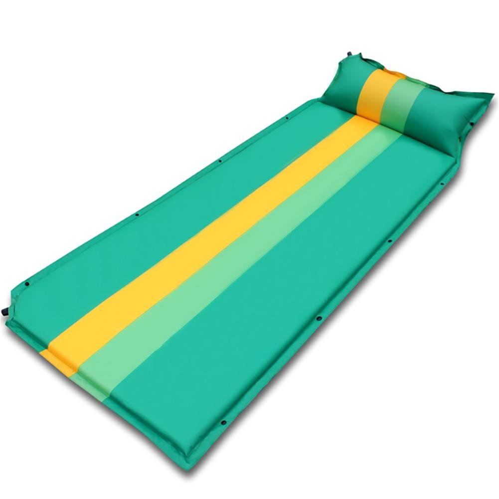 Miao Automatische aufblasbare Pad, Outdoor Kampf Farbe Single Camping Sleeping Pad