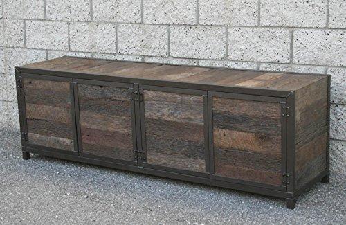 Credenza Console : Amazon modern rustic credenza vintage industrial buffet