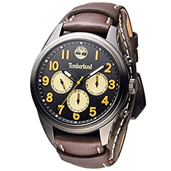 Herren Chronograph Mit Timberland Smart Watch Leder Armbanduhr Quarz wklPZuOTXi