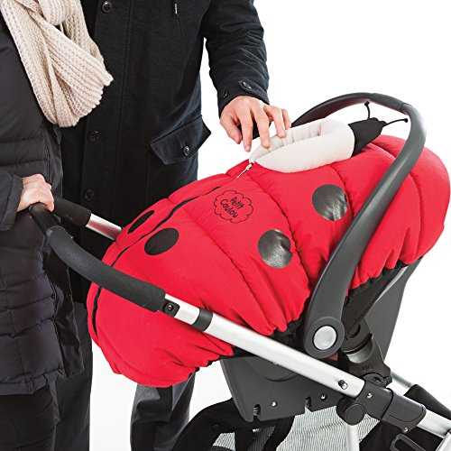 283df1d5b cheaper f8f39 8d4d7 petit coulou winter car seat cover ladybug 500 ...