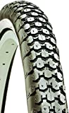Kenda Cruiser Wire Bead Bicycle Tire, Whitewall, 26-Inch x 2.125-Inch