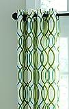 Split P Geo Twist Lined Grommet Panel, 96-Inch For Sale