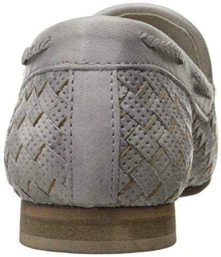 Bos. & Co. Womens Fergi Slip-On Loafer Off White Niquel Soft Dip Leather AfUF8Dv