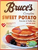 Bruce's Complete Sweet Potato Pancake and Waffle Mix 24oz Box (Pack of 3) by Bruce Foods