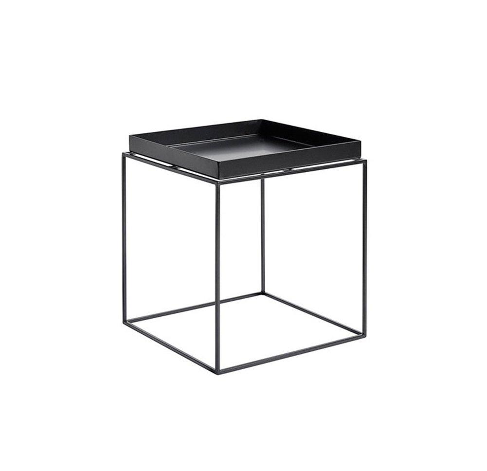 XXHDYR Nordic Tavolino Semplice Cremagliera Soggiorno in Ferro Battuto Mini Tavolo da tè Tavolino da caffè Creativo Balcone Mobile Piccolo Tavolino Tavolo Pieghevole