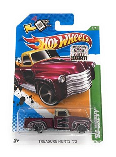 hot wheels 52 chevy truck - 2