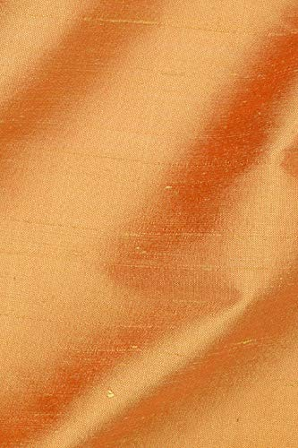 Honey Gold Silk Shantung 54