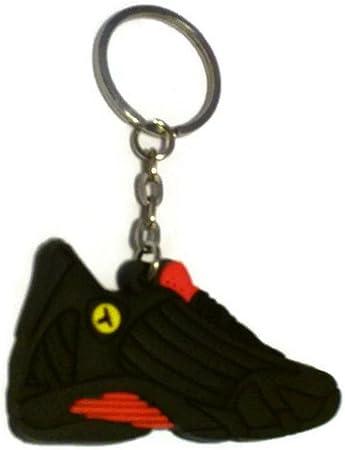Amazon.com: Jordan XIV 14 Last Shot Rojo/Negro Sneakers ...