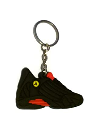 Amazon.com: Jordan XIV 14 Last Shot Rojo/Negro Sneakers ...