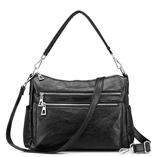Bag Hobo Pocket Zipper Multi Shoulder Women Handbags Realer Crossbody Bags EwPzEq