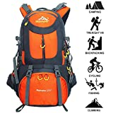 50L Hiking Backpack Climbing Camping Backpack Waterproof Mountaineering Bag Travel Outdoor Sport Pack(45+5) Review