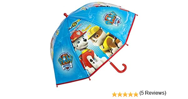 Amazon.com: Paw Patrol Dome Umbrella Marshall and Rubble: Garden & Outdoor