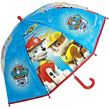 Paw Patrol Dome Umbrella Marshall and Rubble