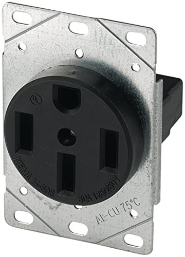 EATON 1258-SP 50-Amp Power (Flush Range Receptacle)