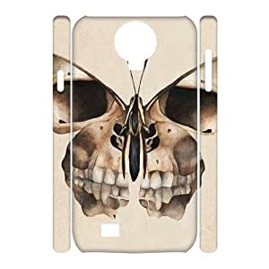 3D Skull Samsung Galaxy S4 Case White Yearinspace005462