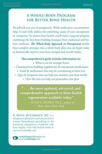 The Whole Body Approach To Osteoporosis How To Improve Bone