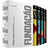 capa de Box Fundação - Declínio e Ascensão (Volumes 4, 5, 6 e 7)