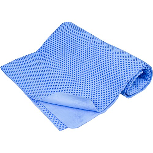 """Cooling Towel, Super Absorbent and Antibacterial, No Refrigeration Required, Extra Large 33""""x 13"""" Size"""