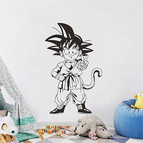 Shentop ROWNOCEAN Dragon Ball Z Goku Boy Tatuajes de Pared de ...
