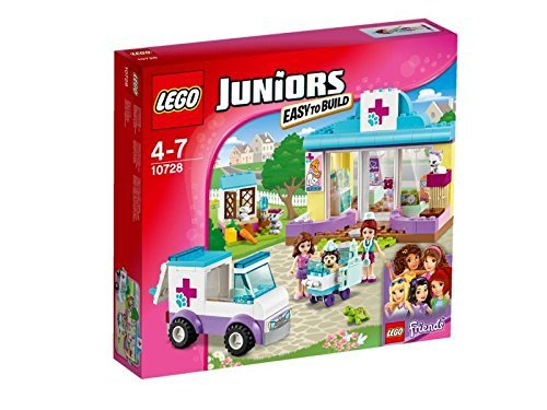 Lego 10728 Juniors Mia's Vet Clinic Construction Set by LEGO