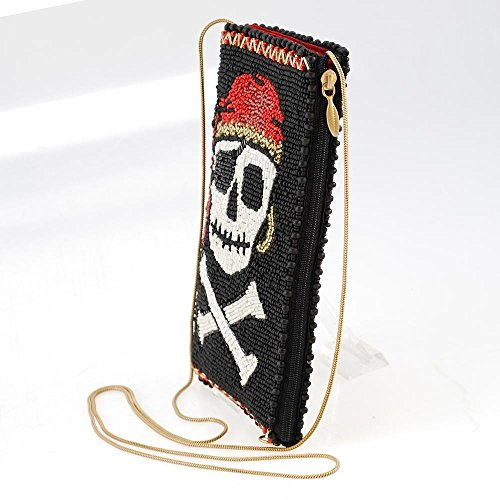 Mary Crossbones Crossbody Bag Phone Skull Walk the Beaded Frances Pirate and Plank Multi 88wOqzr