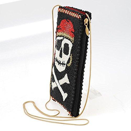 Mary Crossbones Crossbody Bag Phone Skull Walk the Beaded Frances Pirate and Plank Multi 88wOqzr
