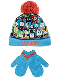 Thomas the Tank Boys Thomas the Tank Engine Hat and Gloves Set Multicolored One Size