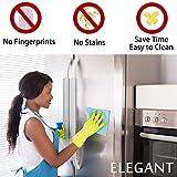 Refrigerator Door Handle Covers, Set of 6, Sleek