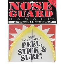 Surfco Hawaii Surfboard Accessories Longboard Yellow Nose Guard Kit by Surfco Hawaii