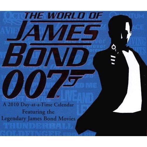 James Bond 007 2010 Calendar