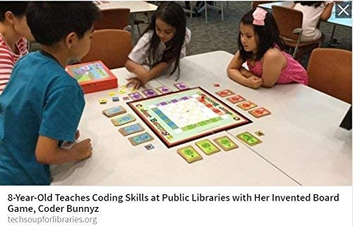 Sony The Most Comprehensive STEM Coding Board Game Ever Google Coder Bunnyz Learn All The Concepts You Ever Need in Computer Programming in a Fun Adventure Featured at TIME Maker Faires Coder Bunnyz Coding Board Game NBC