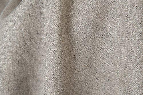 grey linen dress fabric - 5