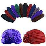 Dozen Pack- 12 Perfect Fit Beautiful Turbans by CoverYourHair®