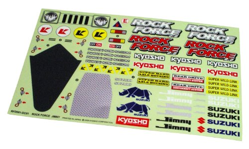 Suzuki Rock - Decal (Suzuki Jimny / Rock Force 2.2) RFD001 (japan import) by Kyosho by Kyosho