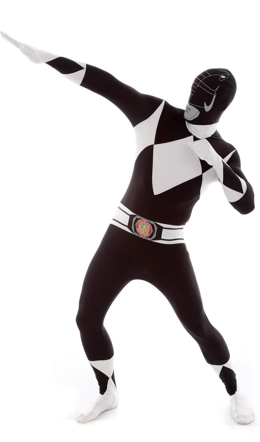 KULTFAKTOR GmbH Power Rangers Morphsuit Lizenzware schwarz-Weiss schwarz-Weiss schwarz-Weiss L (bis zu 1,80 m) 1b1fd8
