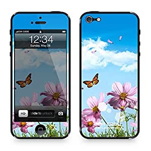 """Da Code ? Skin for iPhone 4/4S: """"Flower and Butterflies"""" (Plants Series)"""