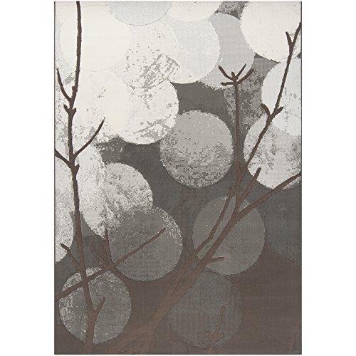 Surya CPO-3703 Contempo Contemporary Area Rug, 2-Feet by 3-Feet, Black Olive