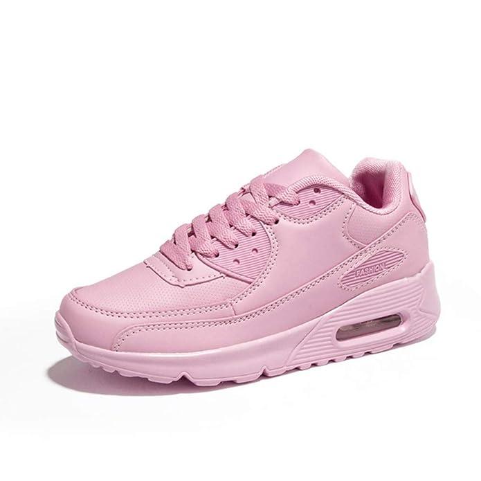 Deportes de Las Mujeres Zapatos de Malla Transpirable al Aire ...