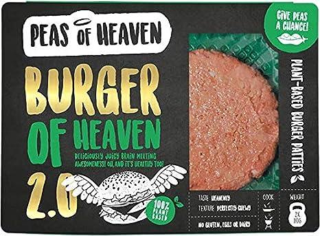 Peas of Heaven Burguesa 100% Vegetal hamburguesa 220g  Sin ...