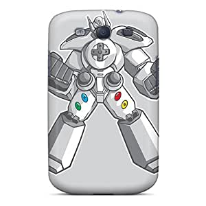 Galaxy S3 Case Cover Super Controller Case - Eco-friendly Packaging