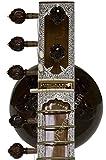 Kanai Lal Sitar - Ravi Shankar Style, Double Tumba, Jawa Patta, Mizrabs, Extra Strings, Comes in Fiber Trolley