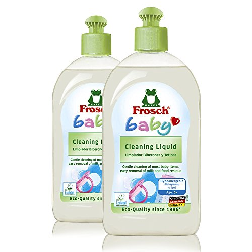 Liquid Dishwashing Cleaner Natural - Frosch Baby Natural Dishwashing and Cleaning (Pack of 2)