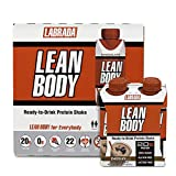 LABRADA - Lean Body Ready To Drink Protein Shake, Convenient On-The-Go Meal Replacement Shake for Men & Women, 20 grams of Protein – Zero Sugar, Lactose & Gluten Free, Chocolate ,33.8Fl Oz,Pack of 16
