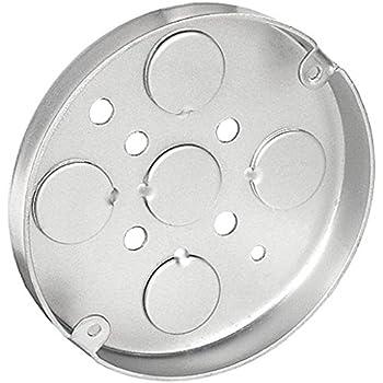 3 1 2 Inch Round 3 4 Inch Deep Pan Box 10 Per Case