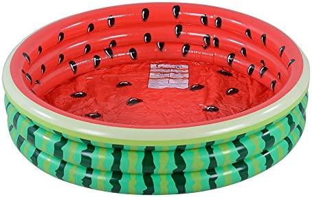 Kiddie Watermelon Hamburger Inflatable Summer product image